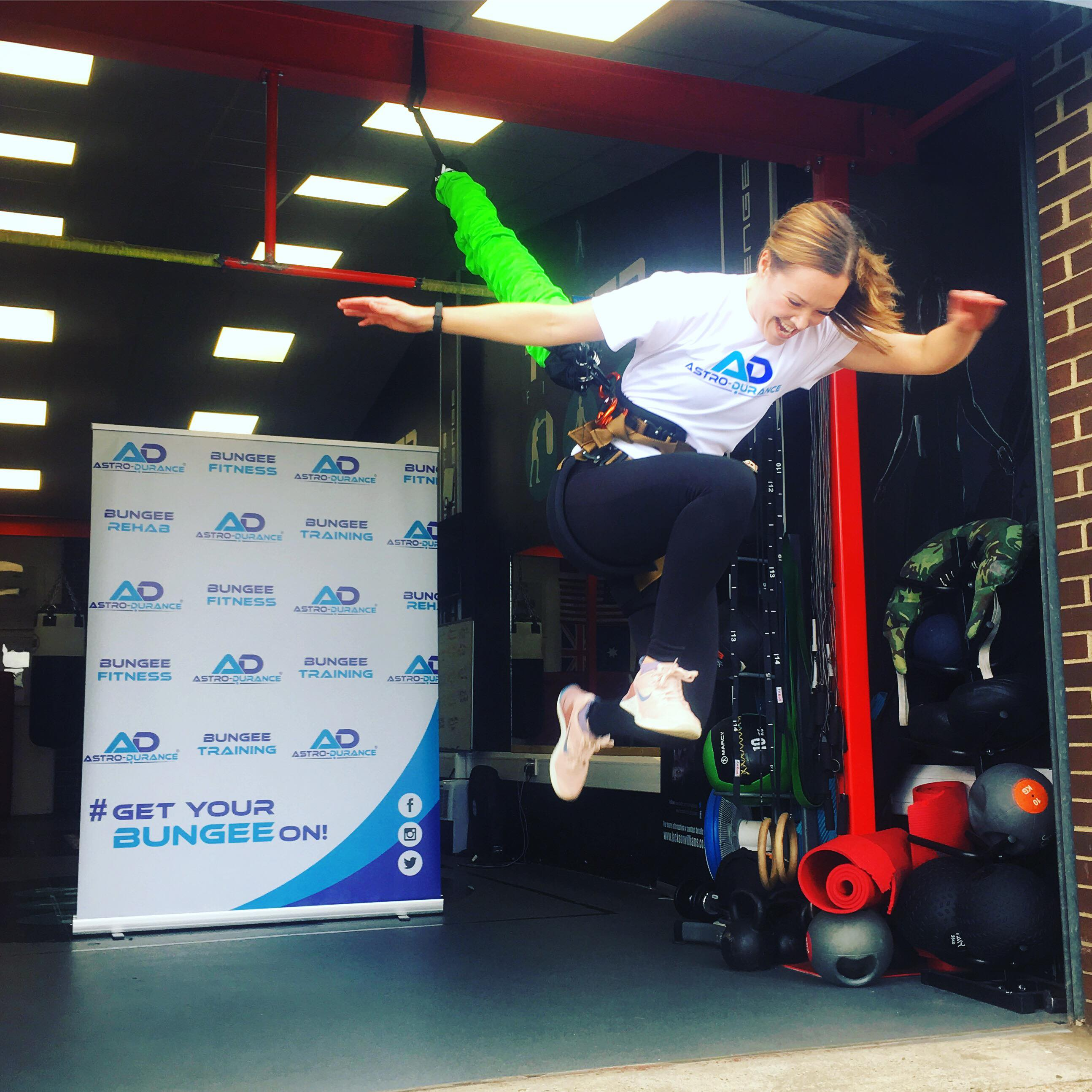 astro durance, bungee fitness, bungee fit, fitness, fitness craze, gym equipment, gym, new workout, norwich, norfolk, tower fitness, ollie matthews, robyn o'brien