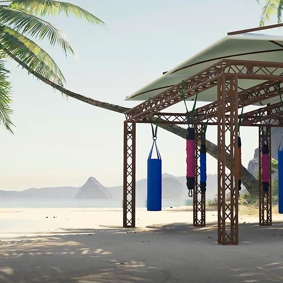 bungee fitness in the maldives, activities, best gyms in the maldives